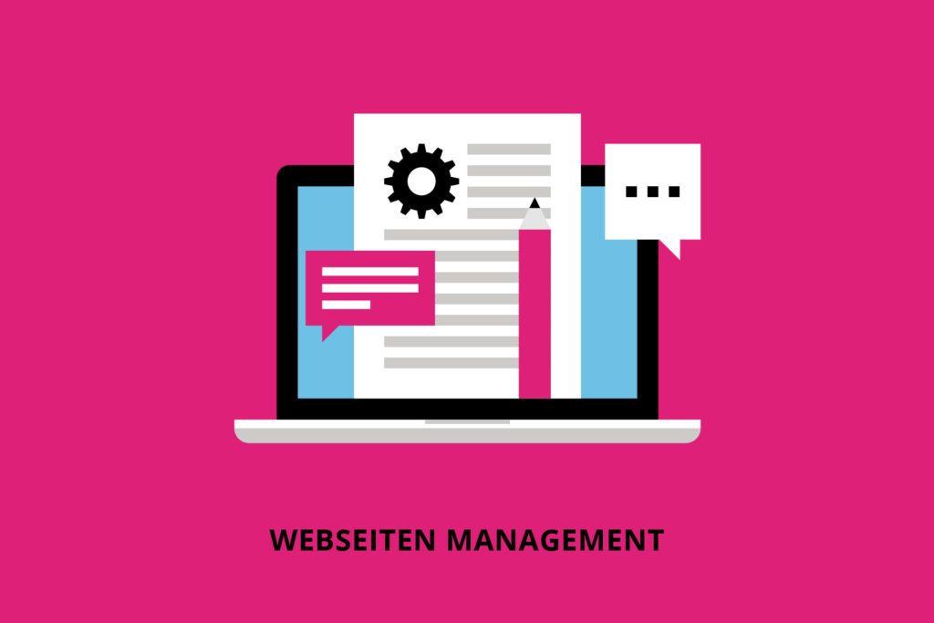 Webseiten Management